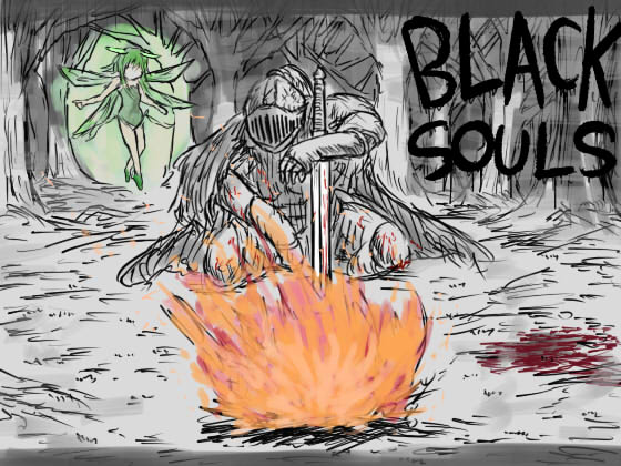 [RJ203687] BLACKSOULS -黒の童話と五魔姫-