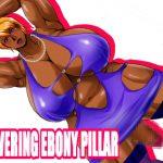 [RJ213251] TOWERING EBONY PILLAR