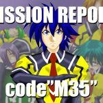 "[RJ195221] MISSION REPORT code"" M35 """