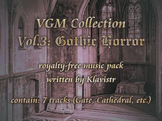 "[RJ217867][KLV Canvas] ロイヤリティフリー楽曲素材集 ""VGM Collection Vol.3: Gothic Horror"""
