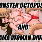 [RJ218643][ミメーシス] 怪物蛸と海女ダイバー