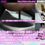 [RJ232066][Libido-Labo] 現役アイドル激ミニちゃんの脱糞・放尿シーンを盗撮!水が流れないように細工を仕掛けられた和式トイレ