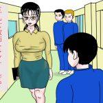 巨乳女教師をマッサージで堕とした話 [RJ255853][happy moment]