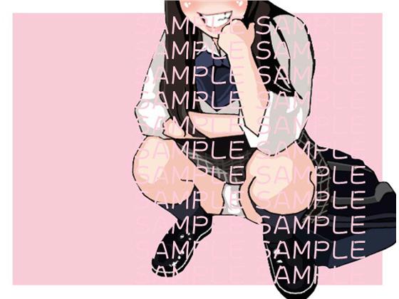 【イラスト著作権フリー素材販売】女子高生(02) [RJ256201][let out]