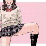 【イラスト著作権フリー素材販売】女子高生(03) [RJ256269][let out]