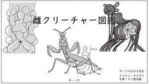雌クリーチャー図鑑Vol.1 [RJ294084][DDSMD]