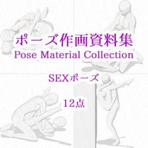 【ポーズ作画資料集050】SEXポーズ12点 [RJ321140][cli_pose]