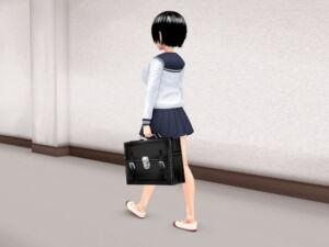 おちんこついてる女の子がシコシコするだけのCG集 [RJ329124][ひかる]