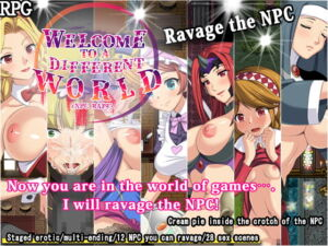 Welcome to a different world (NPC rape) [RJ333214][くんかくんか帝国]