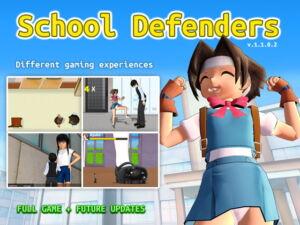 School Defenders [RJ335631][Hentai 3D]
