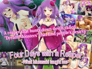 Four Days with a Reaper -What Murasaki taught me- [RJ346185][サモナベール]