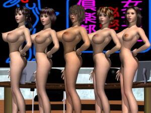 女子アナ倶裸部 プロローグ [RJ347427][楠任電子映像]